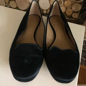 Ann Taylor Black Shoes Sparkly Heels Size 7